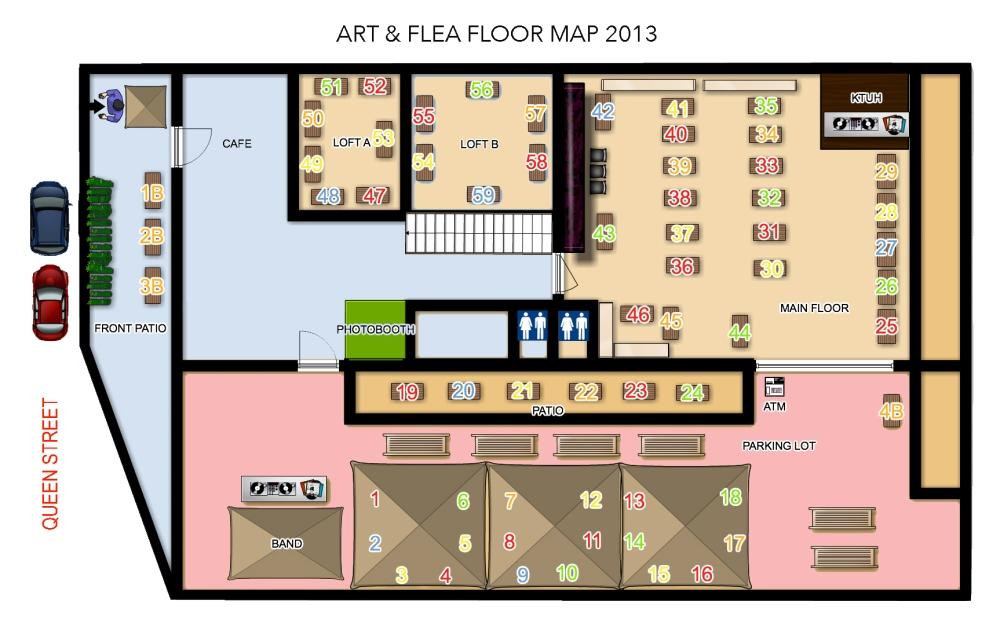 2013 floor map